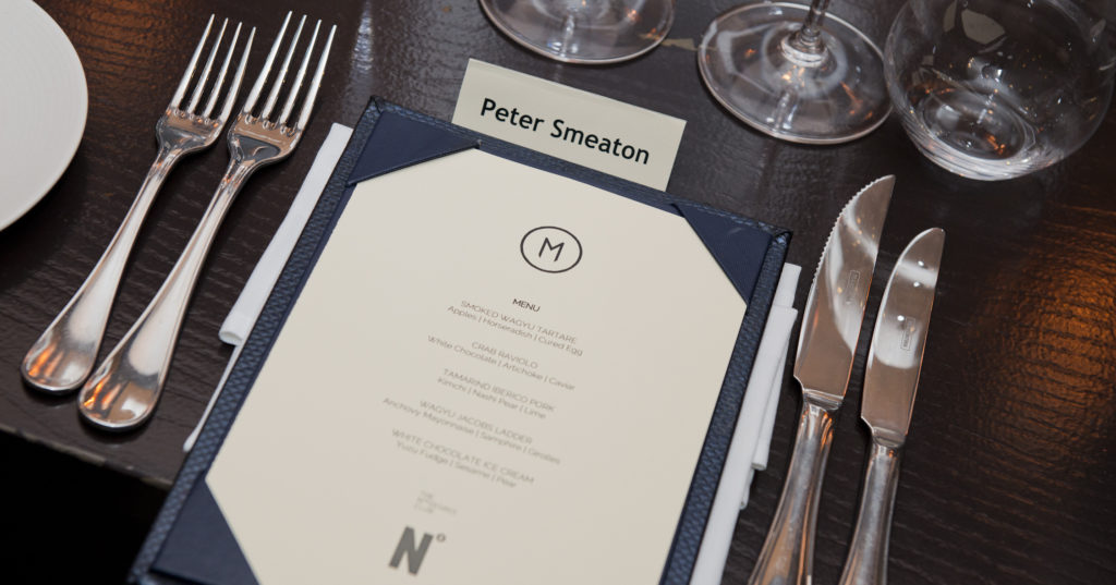 The Nth Degree Lunch at M Restaurant 21 November 2018