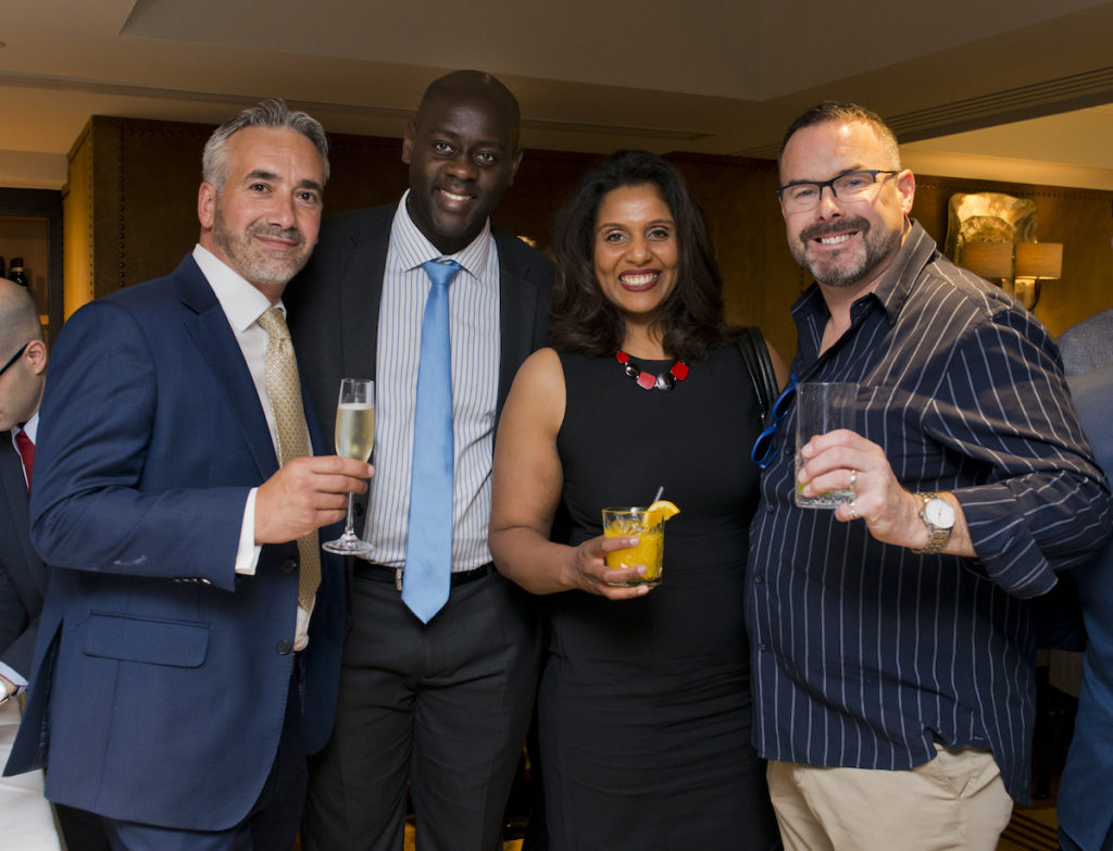 The Nth Degree Club Private Lunch at Novikov Restaurant 11 July 2019