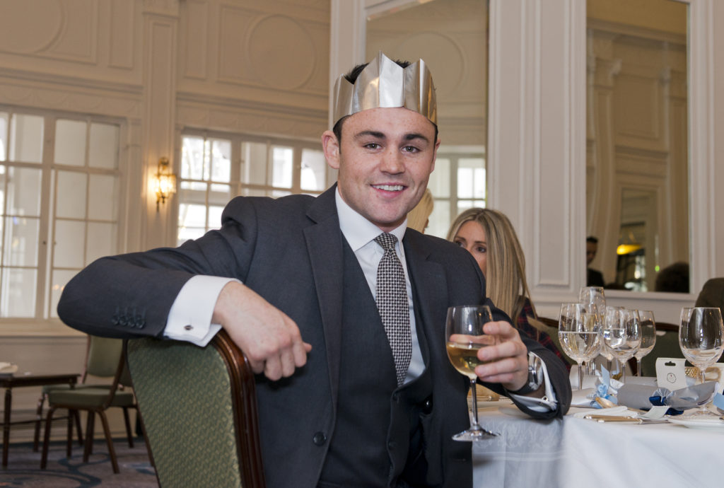 The Nth Degree Club Christmas Lunch at Simpsons in the Strand December 12, 2018